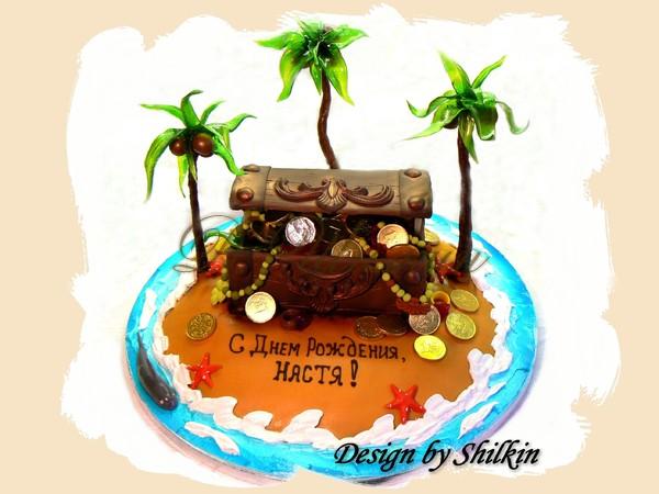 Торт остров сокровищ рецепт